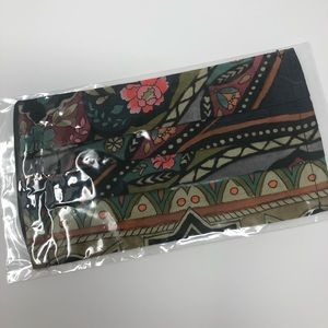 JOHNNY WAS Face Mask Floral Print Boho Hip…